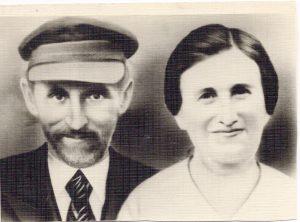 Borukh and Khaya Babinsky. Berdichev.