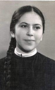 Bena Babinskaya. Kiev. Year 1960.