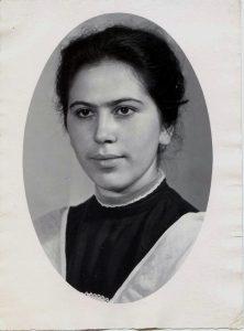 Bena Babinskaya. Kiev. Year 1963.