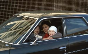 First car: used Ford, Galaxy 500. Chicago. Year 1977.