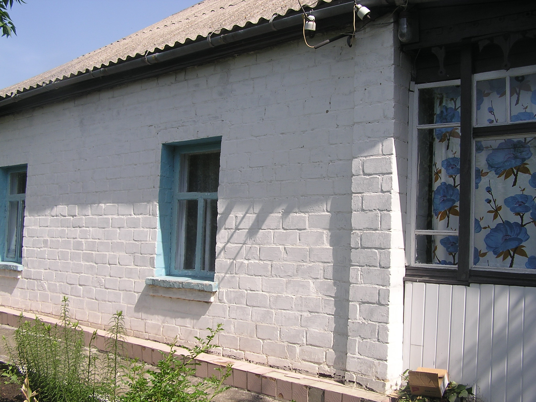 Korsun. House aged from mid-19th century similar to those where the Gnoyenskys lived. Year 2007-2011.