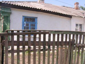 Belaya Tserkov. House on Verkhnyaya Street aged from mid-19th century. Year 2007-2011.