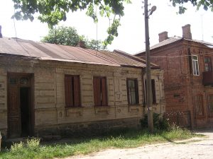 Berdichev. House in the area where the Babinsky family lived. Year 2007-2011.