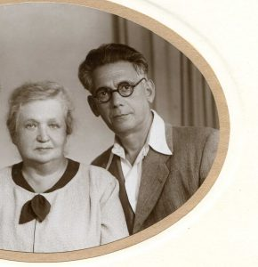 Leib and Maria Averbukh. Leningrad. Year 1955.
