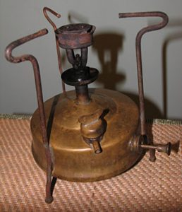 Primus - a burner that worked on kerosene. (Photo from www.bvf.ru).