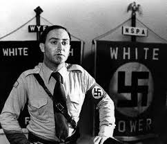 Frank Collin. Founder of National Socialist Party of America later known as American Nazi Party. Photo from: http://judicial-inc-archive.blogspot.com/2011/02/american-nazi-party-leader-turns-out-to.html