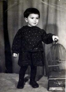 Bena Babinskaya. Kiev. Year 1947.
