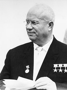 Nikita Khrushchev. Photo from: https://en.wikipedia.org/wiki/Nikita_Khrushchev